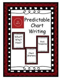 Predictable Charts Kindergarten Prediction Chart Worksheets Teaching Resources Tpt