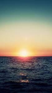 Wallpaper Sunrise, sea, horizon ...