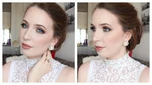 bridal makeup for blue eyes arna ne collab w hannah carson you