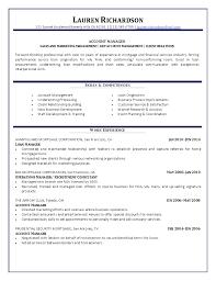 Captivating Account Manager Resume 15 Senior Account Manager