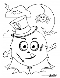 In this technologically driven world with people being. Free Halloween Coloring Pages For Kids Or For The Kid In You