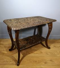 liberty co carved japanese occasional table