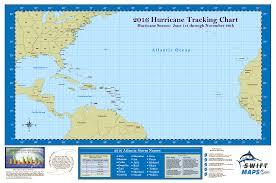 Hurricane Tracking Chart 2017 Atlantic Basin Hurricane Tracking Map Tularosa Basin 2017