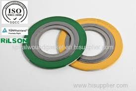 spiral wound gasket and flange. flange spiral wound gasket and