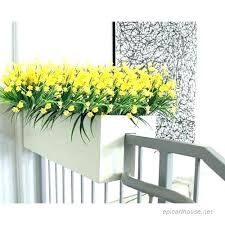 outdoor faux flowers fake plants for outside artificial flowers faux yellow daffodils outdoor greenery shrubs plastic outdoor faux flowers