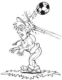 Small Picture Soccer Coloring Pages free printables for kids