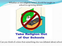 essay eng whether or not religious beliefs should be taught in whether or not religious beliefs should be taught in school is a growing debate