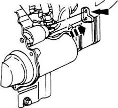 schematics and diagrams how to replace starter on 1997 ford fig 1 remove the starter terminal cover
