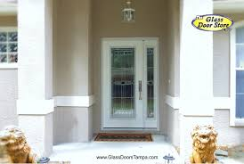 front doors with side windowsA Single Front Door with a Sidelight that Opens  The Glass Door Store