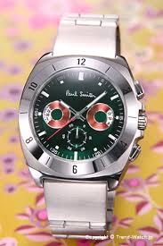 trend watch rakuten global market paul smith x2f paul smith paul smith paul smith watch men disk eyes chronograph disk aizu chronograph moss