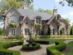 Image Interior Design French Country 4184 Sq Ft With 2118 On Main Level Would Be Easy To Reduce And Square Off Like How The Brick Isnt Flush Pinterest Plan 15862ge Stunning European With Optional 3rd Garage In 2019