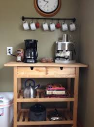 coffee carts for office. coffee cart for the espresso machine pot and all fixings carts office
