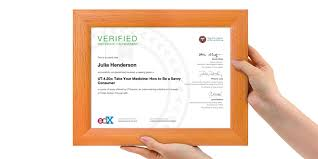 Merit Certificate Sample Simple News About EdX Certificates EdX Blog