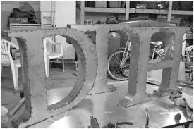 metal wall letters large metal wall letters