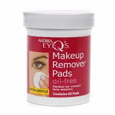 andrea eyeq s eye make up remover pads oil free 4 59 this clic is super easy to use and doesn t leave your eye area feeling greasy
