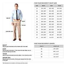 48 Unmistakable Dockers Size Chart