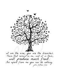 Image result for I am the vine, you are the branches