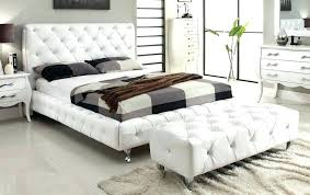 leather tufted sleigh bed tufted leather bed fashion euro complete platform bed with white leather tufted leather tufted sleigh bed