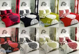 manhattan reversible fl printed duvet cover bedding set single double king super king queen pillow case