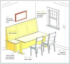 bench seat height. Bench Seat Dimensions Seating Height For Gorgeous F