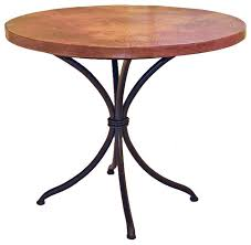 italia bistro table with 36 round top traditional side tables and end tables by timeless wrought iron