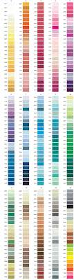 Brother Thread Conversion Chart Expository Pantone Thread Color Chart Embroidery Thread