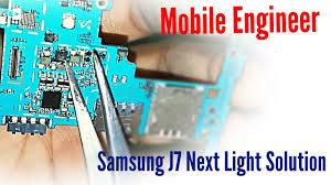Samsung J7 Pro Display Light Solution Samsung J7 Next Light Solution