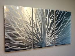 Metal Wall Art Abstract Contemporary Modern Decor Inspiring Art