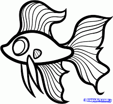 Fish Drawings For Kids Google Search