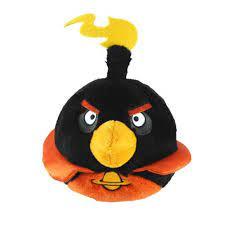 Angry Birds Space Firebomb Bird Plush - Walmart.com