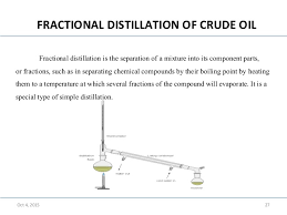 fractional distillation of crude oil experiment. 27. oct 4, 2015 27 fractional distillation of crude oil fractional distillation of crude oil experiment :