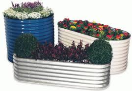 corrugated metal raised garden beds. Raised Corrugated Metal Garden Beds