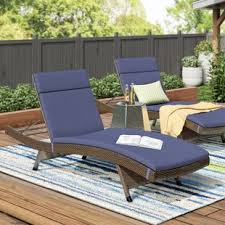 image outdoor furniture chaise. Ziyamet Reclining Chaise Lounge With Cushion (Set Of 2) Image Outdoor Furniture