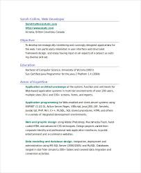 Resume Sample Doc Amazing 40 Fresher Resume Samples Free Premium Templates