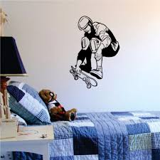 Skateboard Bedroom Decor Online Get Cheap Skateboard Wall Stickers Aliexpresscom