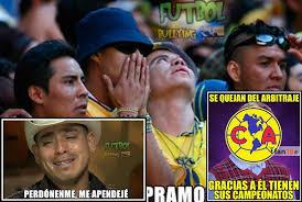 Los Memes del América vs. Chivas - Futbol Total via Relatably.com