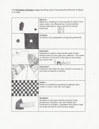 Elements And Principles Of Design Activities Principles Of Design Worksheet Principles Of Design