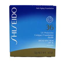 shiseido uv protective pact foundation refill fair ivory 42 ounce 0
