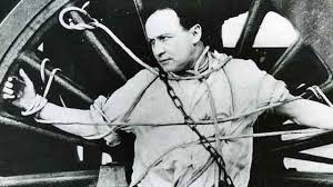 Image result for 1926 – Harry Houdini performs his greatest feat,