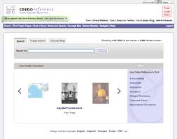 Credo Online Reference Service Redesign Natalie Schiera