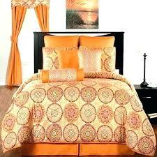 burnt orange bed sheets queen bedding sets house furniture design king size set silver grey