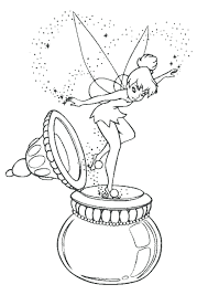 Coloring Pages Tinkerbell And The Great Fairy Rescue Book Fairies