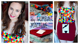 diy costume gumball machine easy