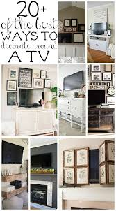 attractive ideas for tv wall decoration adornment wall art ideas