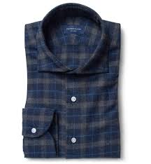Whistler Shirt Size Chart Philippines Whistler Navy And Charcoal Plaid Flannel Mens Custom Shirt
