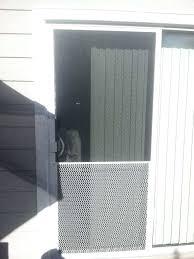 pet screen door protector sliding screen door with pet guard yelp excellent protector original 7 camper pet screen door protector sliding