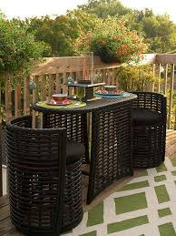 small outdoor table and chairs patio furniture for small balconies black chair and frame