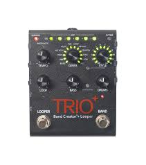 trio digitech guitar effects band creator looper