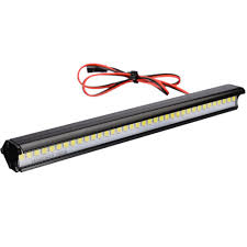 36 Led Light Bar Us 8 74 20 Off 1 Pc Super Bright 36 Led Roof Light Lamp Bar Metal Rc Truck Crawler Roof Light For 1 10 Rc Crawler Accessories In Parts Accessories