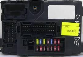 fiat grande punto oem fuse box relais bsi bsm bcm module fiat grande punto heater fuse at Fiat Punto Fuse Box